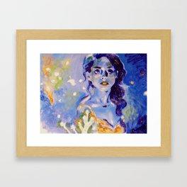 Believe In Unicorns Framed Art Print