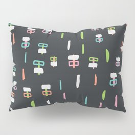 Happiness in Shapes 1 Pillow Sham