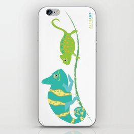 You're One in A Chameleon iPhone Skin