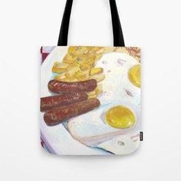 Greasy Breakfast Tote Bag