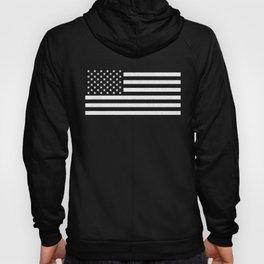 USA flag - HiDef Super Grunge Patina Hoody