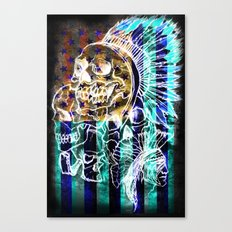 American Savage Canvas Print