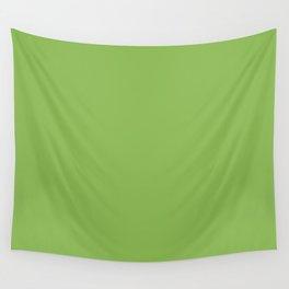 GREENERY PANTONE 15-0343 Green Wall Tapestry