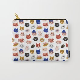 Fashionable cats Carry-All Pouch