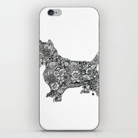 terrier iPhone & iPod Skins featuring Terrier by PawPrints