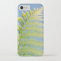 fern iPhone & iPod Cases featuring Fern by Pati Designs