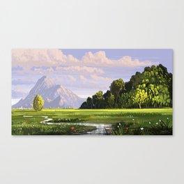 Rural Scape Canvas Print