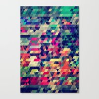 wallpaper Canvas Prints featuring Atym by Spires