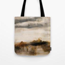 Steppe landscape Tote Bag