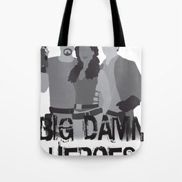 big damn heroes, firefly serenity Tote Bag