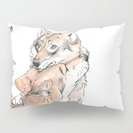 MFM: Stay Out of the Forest Pillow Sham