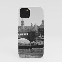 1890 Narragansett Towers & Casino, Narragansett, Rhode Island iPhone Case