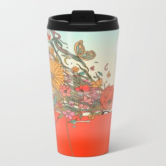 Passing Existence Metal Travel Mug