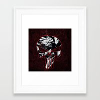 punisher Framed Art Prints featuring Punisher 1 by Beastie Toyz