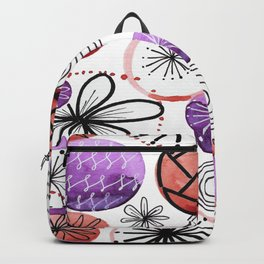 Geommetric balls Backpack