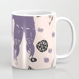 hands and leaves Coffee Mug
