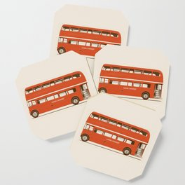 Red London Bus Coaster