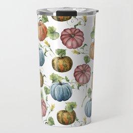 PUMPKINS WATERCOLOR Travel Mug