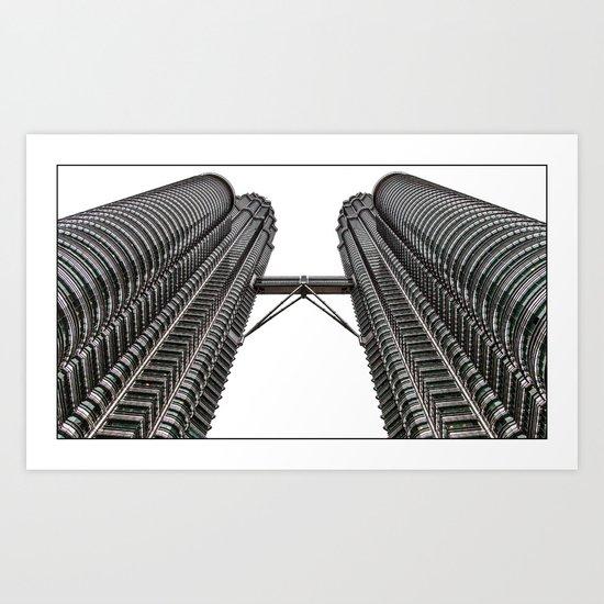 Petronas Towers - Kuala Lumpur Art Print