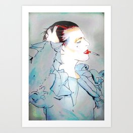 BOWIE 01 Art Print