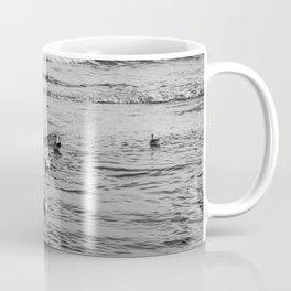 Seagulls Bathing Coffee Mug