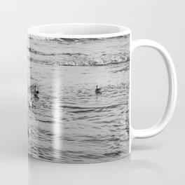 Seagulls Bathing Coffee Mug