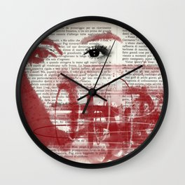 Eclipses Wall Clock