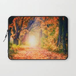 Autumnal forest watercolor painting #3 Laptop Sleeve