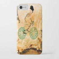 """tour de france iPhone & iPod Cases featuring Monsieur Bone and """" le  Tour de France """" by Ganech joe"""
