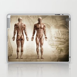 human anatomy digital render Laptop & iPad Skin