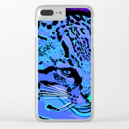 Ocelot Clear iPhone Case