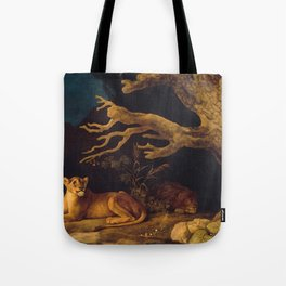 Lion and lioness - George Stubbs - 1771 Tote Bag
