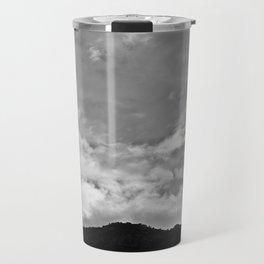Clouds over the Sandias Travel Mug