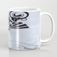 third eye Mugs featuring Third Eye by Biancasigns