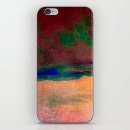 sunset/soft light/abstract/nature/sea iPhone Skin