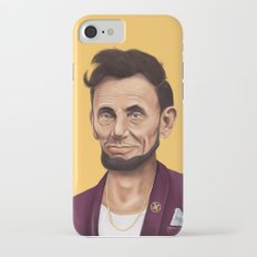 Hipstory -  Abraham Lincoln iPhone 7 Slim Case