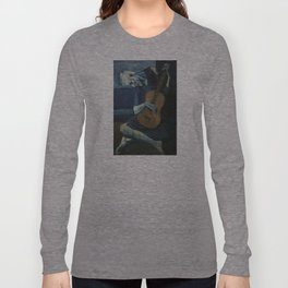Pablo Picasso - The Old Guitarist Long Sleeve T-shirt