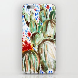 Melody Maker Plants iPhone Skin