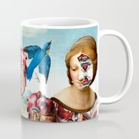 madonna Mugs featuring Madonna by DIVIDUS