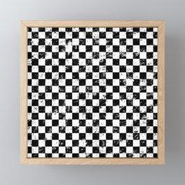 Checkers Framed Mini Art Print