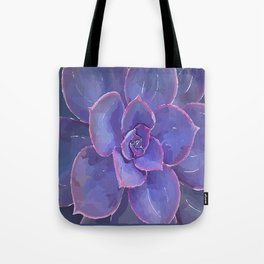 Moody Blues Succulent- by Hxlxynxchxle Tote Bag