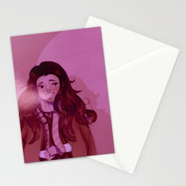 Warm on a winter day Stationery Cards