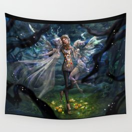 The Secret Garden Wall Tapestry