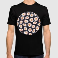 OOPS A DAISY MEDIUM Black Mens Fitted Tee
