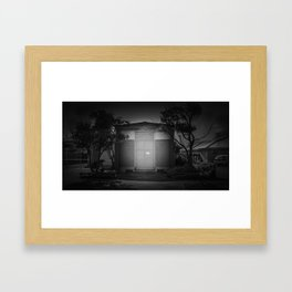 The Christchurch Electricity Substation Project XI Framed Art Print
