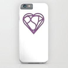 Psy Z Heart, Mind + Shield, Purple iPhone 6s Slim Case
