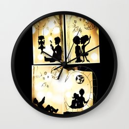 The Love Story Wall Clock