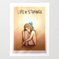 Max Caulfield - Life is Strange Art Print