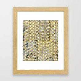 Golden Cage #society6 #decor #buyart Framed Art Print