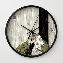 """Kay Nielsen Fairy Tale Art from """"West of the Moon"""" Wall Clock"""
